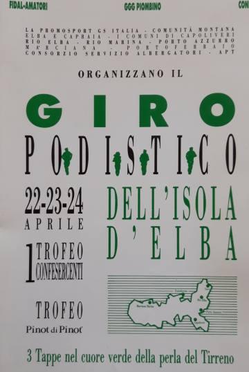 30° Giro Podistico dell'Isola d'Elba  <div style=