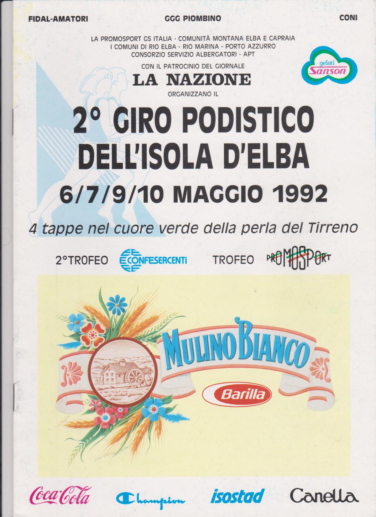 Nella seconda edizione il Giro passa a quattro tappe e si sposta nel mese di Maggio, mese in cui i profumi ed i colori dell'Elba ce la rappresentano nel suo splendore!